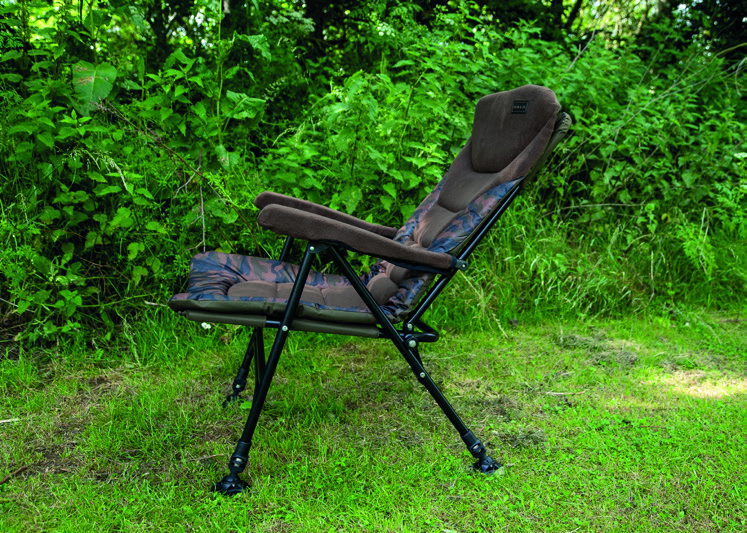 Skills Camo Relax Chair Adjustable Side 2