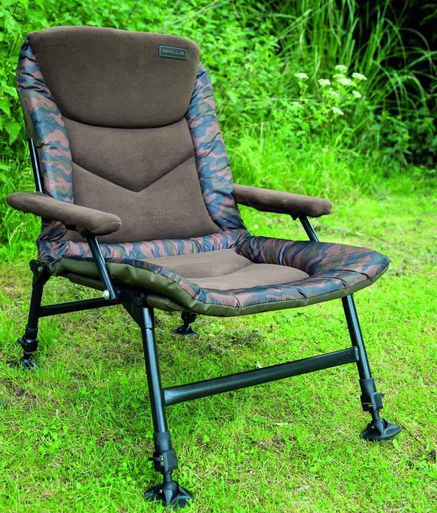 SKILLS CAMO CARP ARM CHAIR