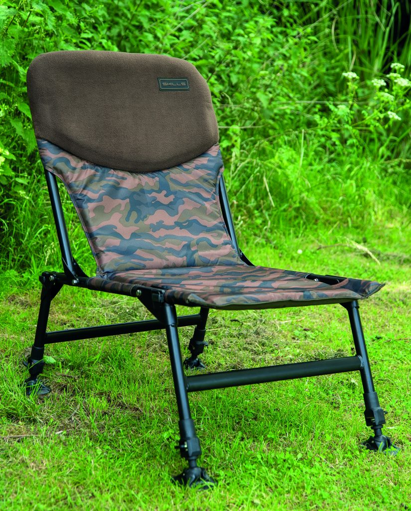 SKILLS CAMO CARP ARM CHAIR V2